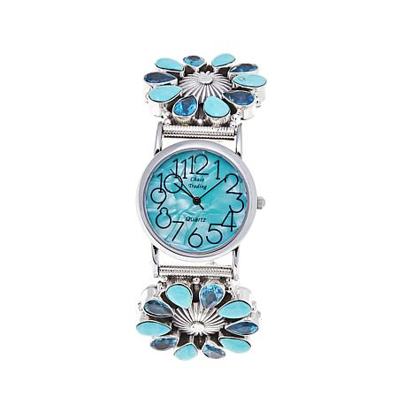 chaco-canyon-turquoise-and-blue-topaz-bracelet-watch-d-2017021415593227-525642.jpg